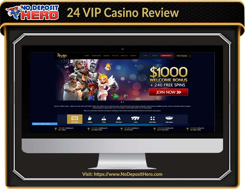 24 VIP Casino No Deposit