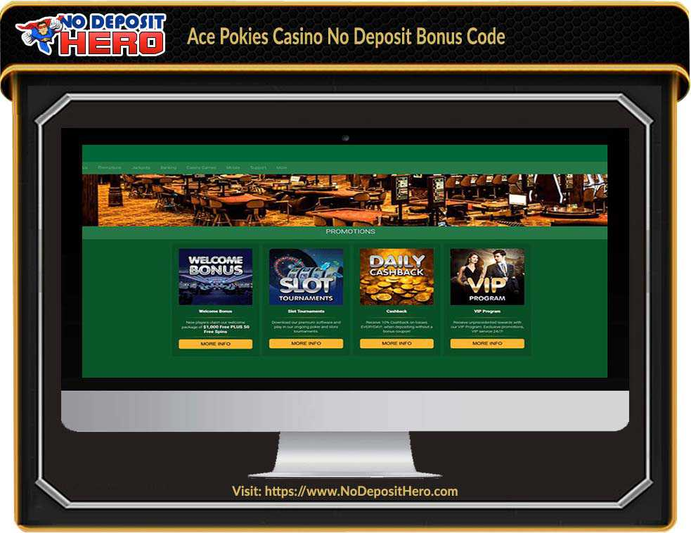 Ace Pokies Casino No Deposit