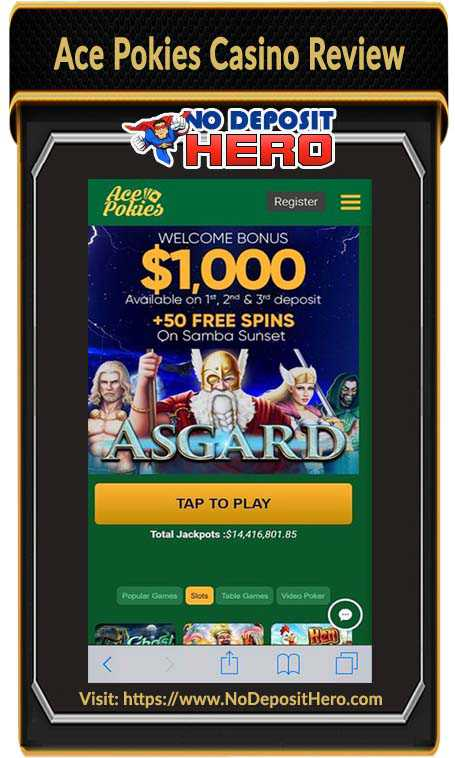 Ace Pokies Casino