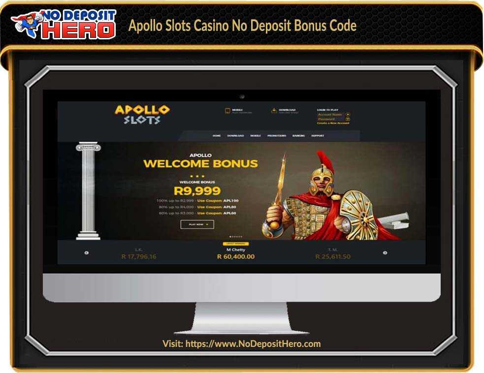 Apollo Slots Casino No Deposit Bonus Code