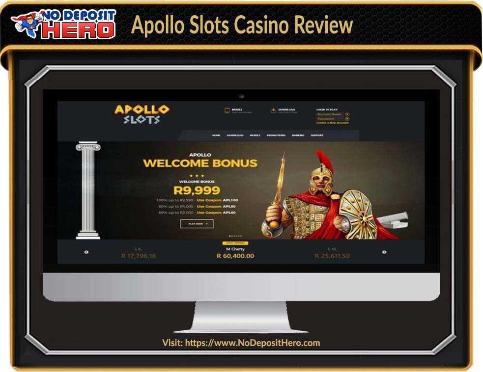 Apollo Slots Casino Review
