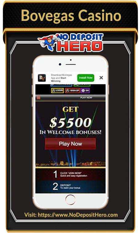 Bovegas Casino Bonus Code