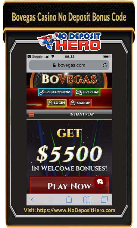 Bovegas Casino Review