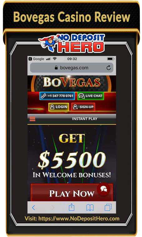 Bovegas Casino No Deposit