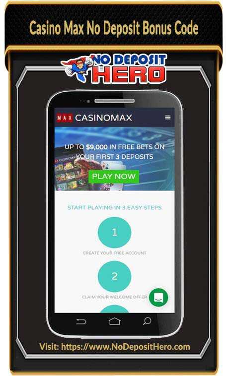 Casino Max No Deposit