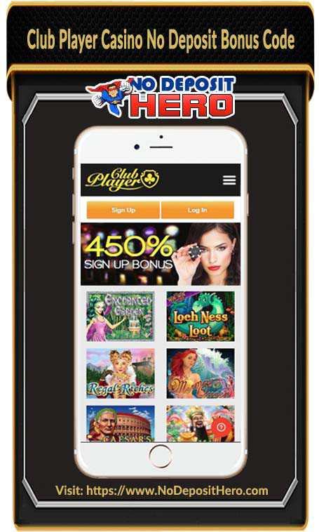 Club Player Casino Bonus Code