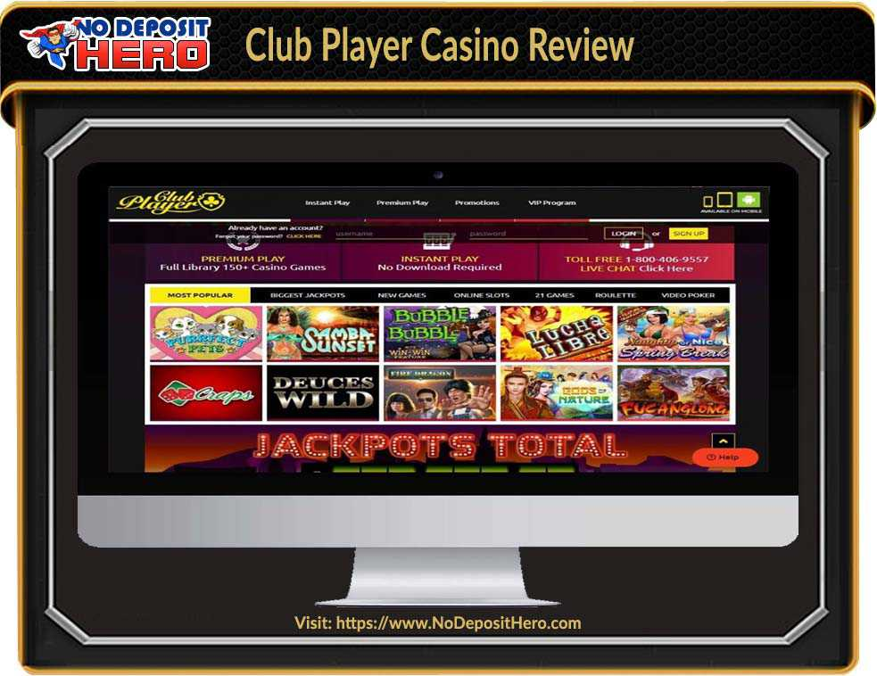 Club Player Casino No Deposit