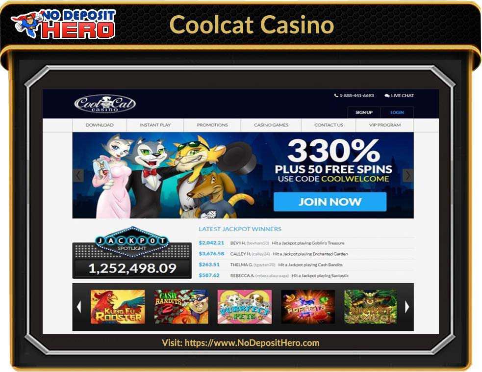 Coolcat Casino No Deposit
