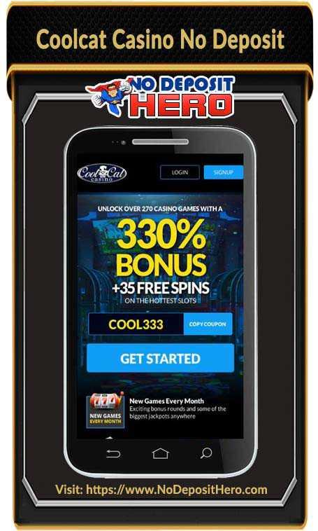 Coolcat Casino No Deposit Bonus Code
