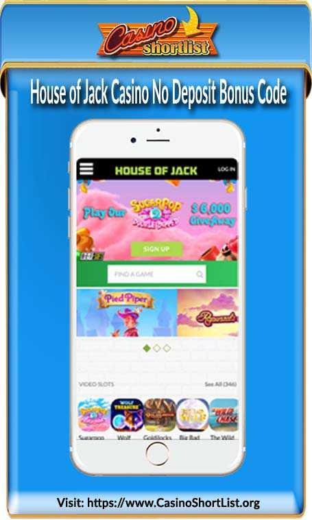House of Jack Casino Bonus Code