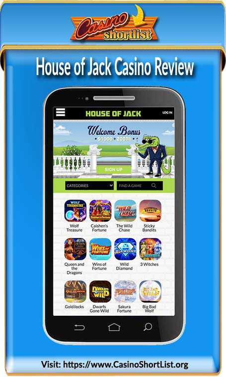House of Jack Casino No Deposit Bonus Code