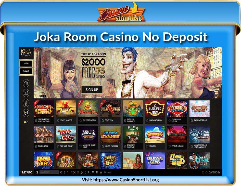 Joka Room Casino No Deposit