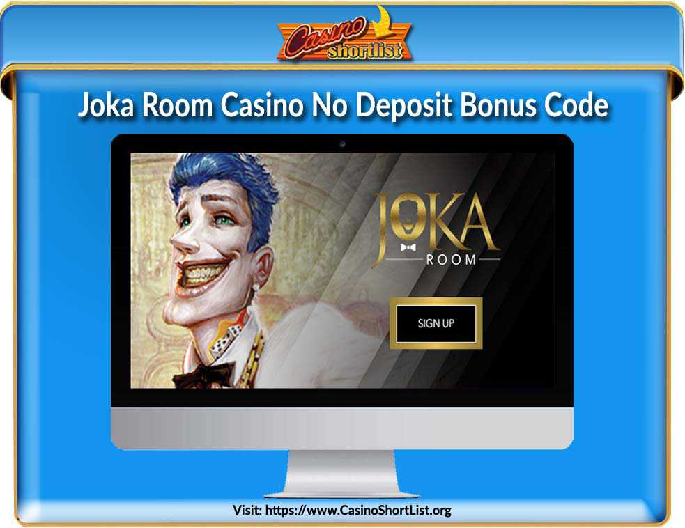 Joka Room Casino Bonus Code
