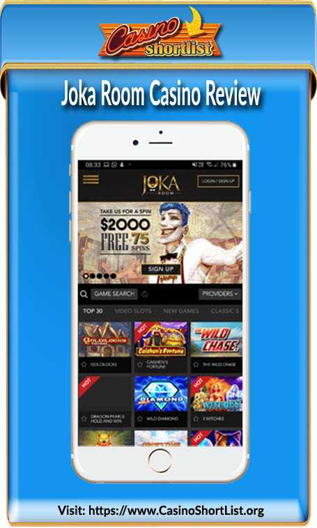 Joka Room Casino No Deposit Bonus Code