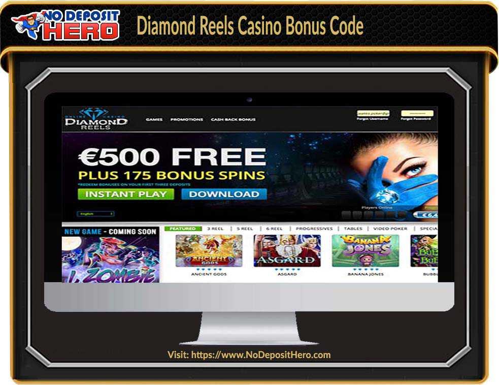 Diamond Reels Casino Bonus Code