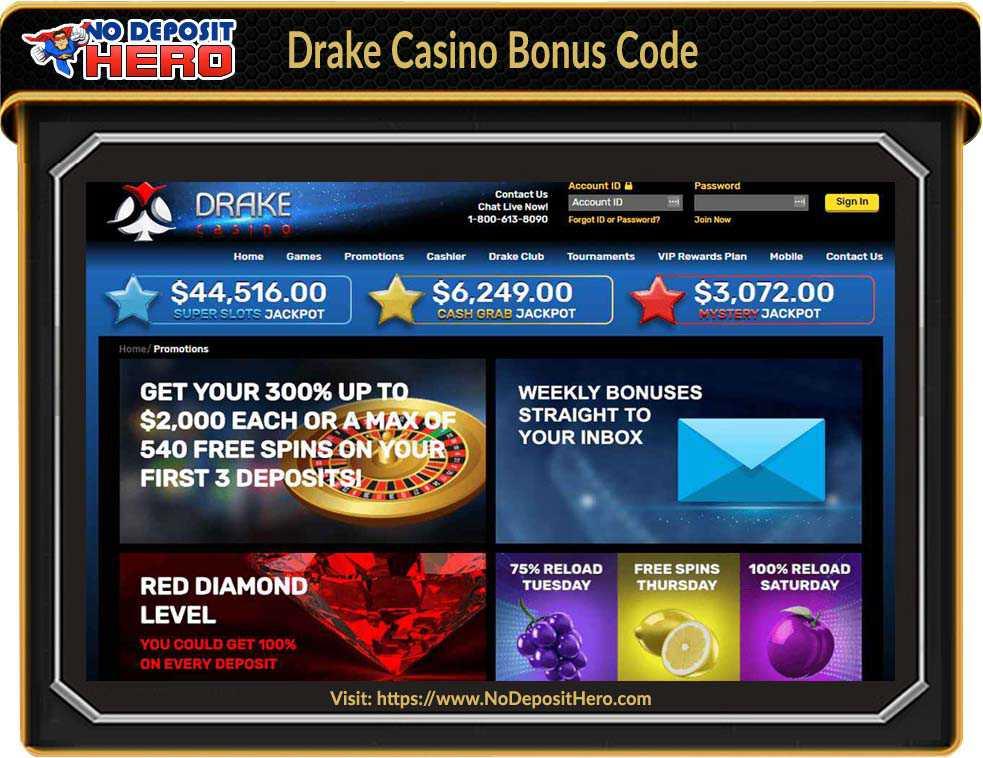 Drake Casino No Deposit