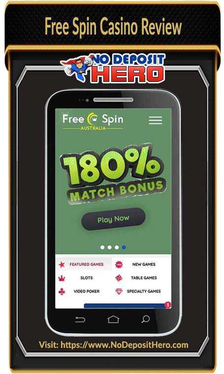 Free Spin Casino No Deposit Bonus Code