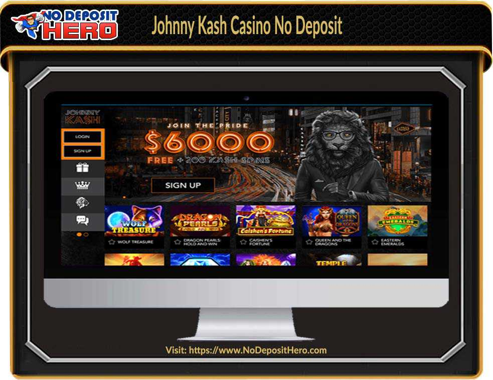 Johnny Kash Casino No Deposit