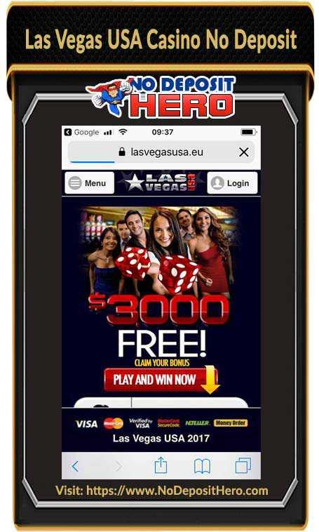 Las Vegas USA Casino Bonus Code