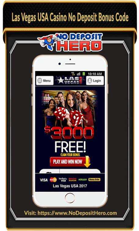 Las Vegas USA Casino No Deposit Bonus Code