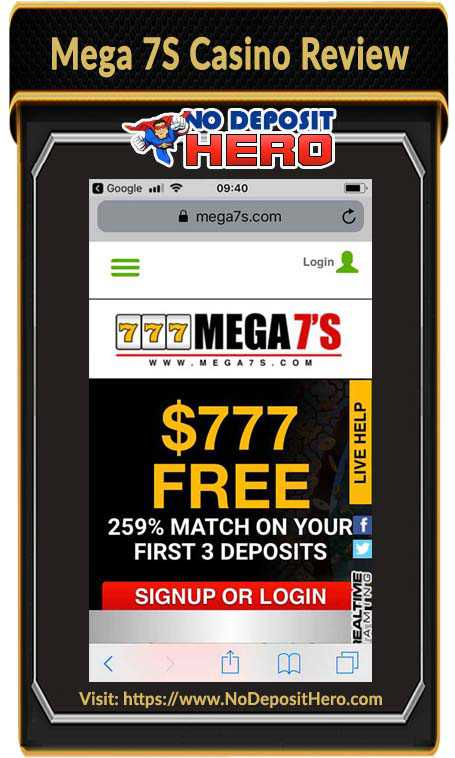 Mega 7S Casino Review