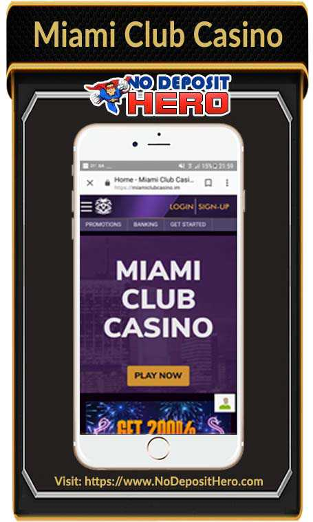 Miami Club Casino No Deposit