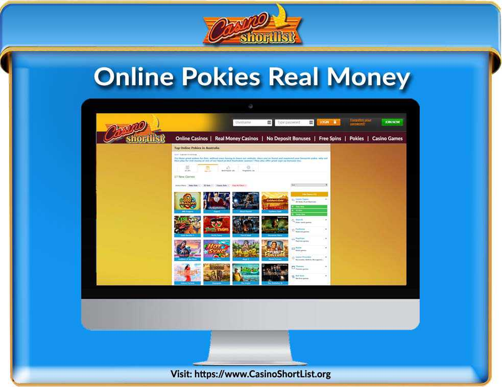 Online Pokies Real Money