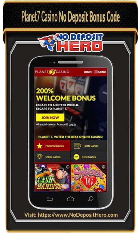 Planet7 Casino No Deposit Bonus Code