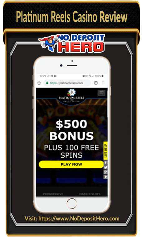 Platinum Reels Casino Review