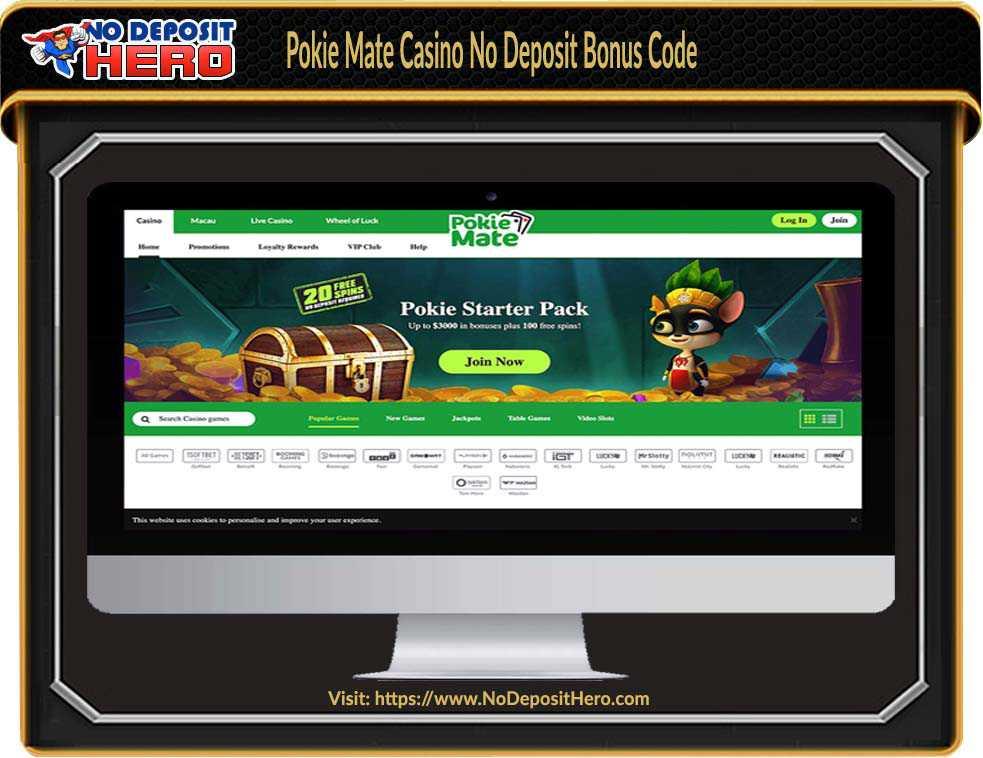 Pokie Mate Casino No Deposit