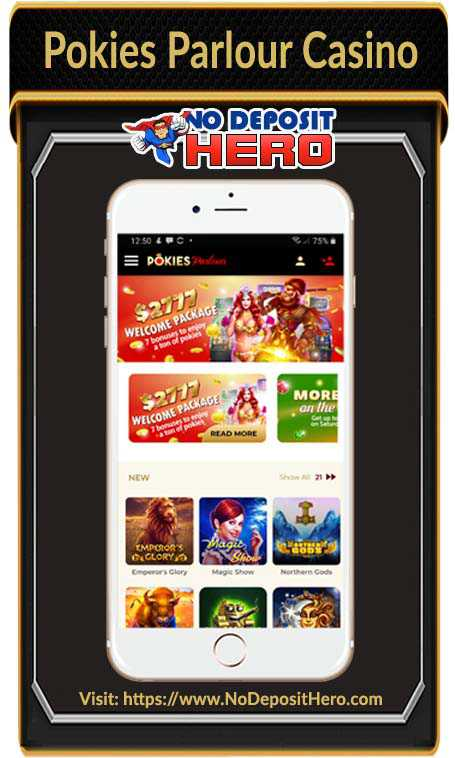 Pokies Parlour Casino No Deposit Bonus Code