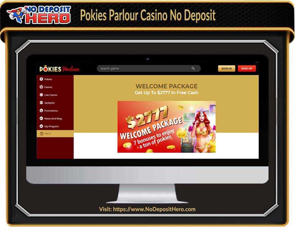 Pokies Parlour Casino Bonus Code