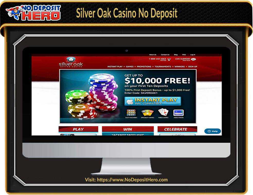 Silver Oak Casino No Deposit