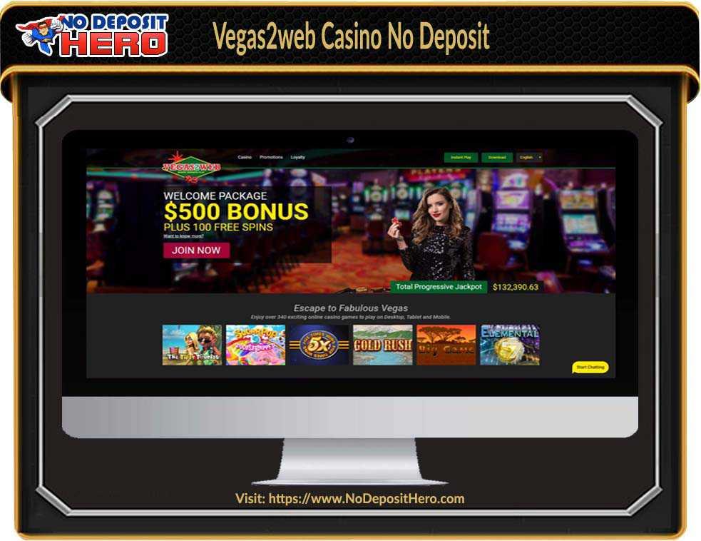 Vegas 2 Web Casino No Deposit