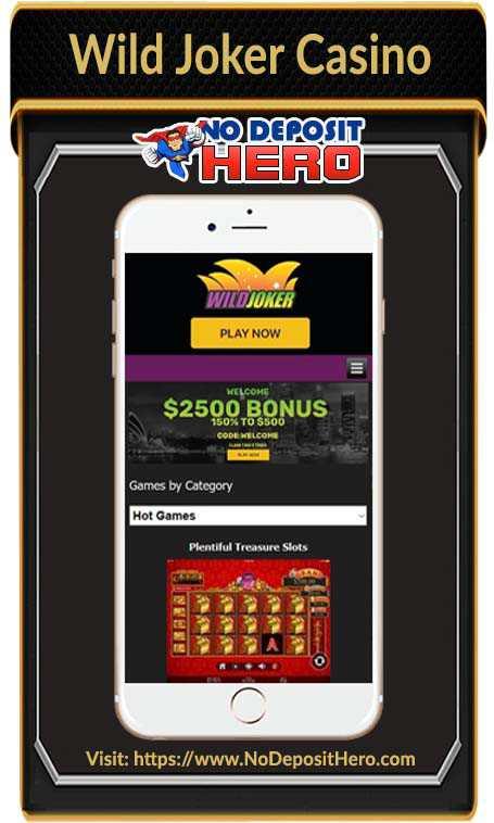 Wild Joker Casino Bonus Code