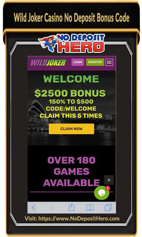 Wild Joker Casino No Deposit
