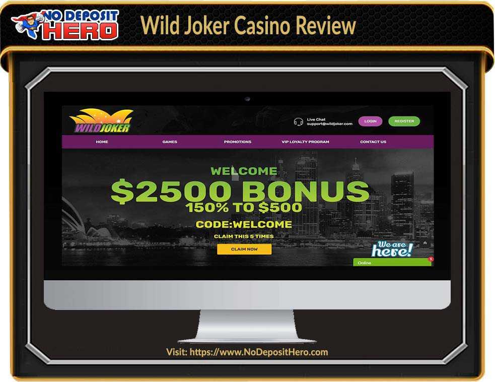 Wild Joker Casino Review
